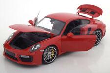 Coches, camiones y furgonetas de automodelismo y aeromodelismo rojos, Porsche de escala 1:18