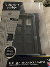 Doctor who 13th doctor 9 inch  Electronic tardis Model