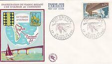 FRANCE 1966 FDC PONT D ORLERON YT 1489
