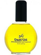 Famous Names 99% CERTIFIED ORGANIC DADI OIL Nail & Cuticle Oil Treatment 2.3 oz