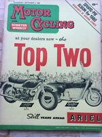 Motorcycling Magazine - 8 December 1960 - Matchless and AJS Singles