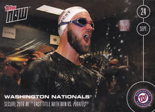 2016 Topps NOW 501-A Bryce Harper Wash Nationals NL East Champs ONLY 544 Printed