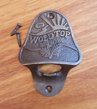 Cast Iron Wall Mounted Vintage Antique Style Bottle Opener - WOLD TOP BREWERY