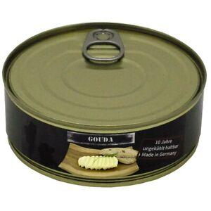 Käse Gouda 200 g Vollkonserve Notnahrung 10 Jahre haltbar Notvorrat Prepper EF
