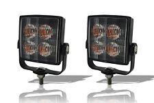Amber Square Strobe Clignotant DEL Lumière Recovery Truck Camion de dépannage Lampe x2
