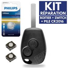 Boitier Télécommande Coque de Clé pour Plip RENAULT Kangoo Modus Clio 3 Master