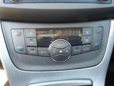 NISSAN PULSAR C12 SSS HEATER AC CONTROLS CLIMATE CONTROL TYPE 05/13-ON 13 14 15