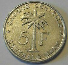 Belgian Congo Belge Rwanda-Urundi 5 Franc 1956-1958-1959 KM#3 Belgisch