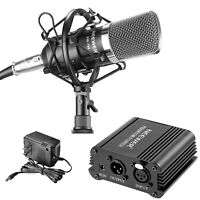 Neewer NW-700 Microphone & Phantom Power kit (1)NW-700 Condenser Microphone