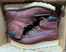"""Red Wing Irish Setter 83605 Ashby 6"""" Brown Leather Work Boots, Size 10"""