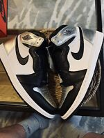 Nike Air Jordan 1 Retro High Og Womans Sliver Toe Size 12