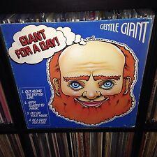 ORIG Gentle Giant For A Day LP Vinyl 1978 FRANCE PRESS Album King Krimson VG++