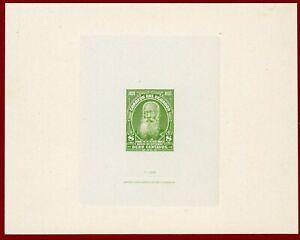 Ecuador 1920 #230, Die Proof, Baltazar Garcia, ABNC
