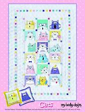 Amy Bradley Designs Abd288 Cats Quilt Pattern Multicolored