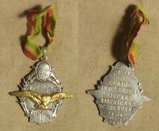 Bolivia: Medal: 1930 La Paz Hispanic-Amer. Intellectual Center 28x32mm, Silver