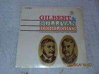 Highlights: Gilbert And Sullivan By London Savoyard Orchestra (Vinyl 1966)