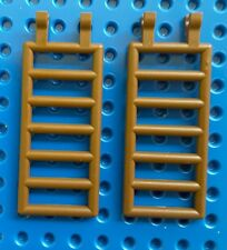 LEGO 6020 LADDER 7 X 3 WITH DOUBLE CLIPS BROWN. From sets 1888, 6266, 6056 etc
