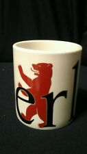 "Starbucks BERLIN City Mug Collector Series 2002 Germany 4 1/4"" tall Coffee Mug"