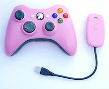 Xbox 360 Wireless Game Pad Controller for Use With Microsoft (Pink)