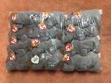 TY Beanie Baby Spike, 1 Dozen Wholesale Lot, NEW, PE Pellets, Indonesia, MWMT