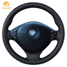 Leather Steering wheel Cover for BMW E39 5 Series E46 3 Series E53 X5 E36 #BM26