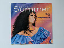 "Donna Summer - State of Independence - 1982 - 7""  Vinyl Single"