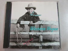 WESTERN VOGUE ROUND UP 1992 10 TRK HTF OOP CD INDIE POP ROCK FOLK COUNTRY WORLD