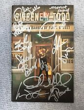 Sweeney Todd Off-Broadway Playbill - Signed by full cast incl. Carolee Carmello