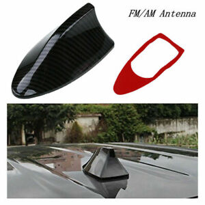 1Pc Car Exterior Shark Fin Style Roof Antenna Radio Decorate Aerial Fit For BMW