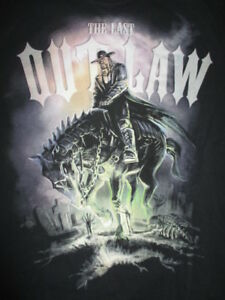 """WWE THE UNDERTAKER """"The Last OUTLAW"""" (MED) T-Shirt"""