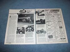 "1985 Yamaha VMX12N Vintage Motorcycle Info Article ""Big, Bad and Beautiful"""