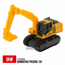 TAKARA TOMICA #9-2 KOMARSU EXCAVATOR PC200-10 DIECAST CAR MODEL 439172