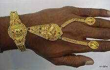 dorsal hand ornament bracelet rings 20k gold bracelet ethnic tribal