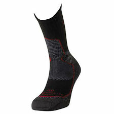 Lorpen Nordic Thermolite Medium 7.5-9.5 Black Red Ski Socks 2Pack Men Women SNK