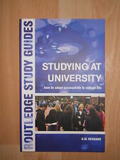 Routledge Study Guide Studying At University