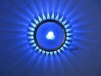 3W LED Wall Sconce Lamp Ceiling Light Fixture Aisle Exhibition Bedroom Vestibule