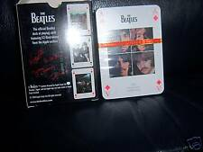 THE BEATLES FULL GLOSS OFFICIAL APPLE CORPS PLAYING CARDS BRAND NEW IN PACK.