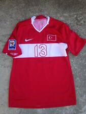 TURKIYE MATCH WORN TRIKOT JERSEY  QUALIFICATION TO WC 2010
