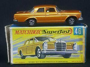 Matchbox Superfast Transitional MB46-A4: Mercedes-Benz 300SE, G Box