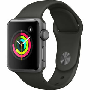 42mm Brand New Apple Watch Series 3 GPS Space Gray Black w/ 1yr Warranty iwatch