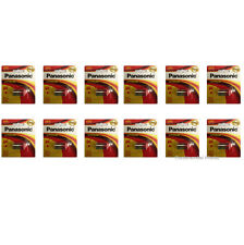 12 Pcs Panasonic CR-2 1/2A Photo Lithium 3V Battery CR2 CR-2PA/1B 2023 DATE