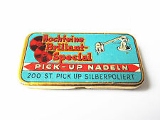 Grammophon NADELDOSE BRILLANT SPECIAL PICK-UP NADELN gramophone needle tin