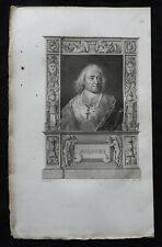 """D2) Gravure ancienne """"  vers 1830 """" -> Bossuet"""