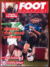 FOOT Magazine du 27/02/1995; René Eijkelkamp/ Johan Vermeersch/ Manu Karagiannis