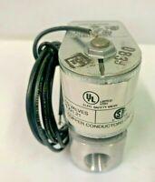 """HONEYWELL V4046C1088 Gas Solenoid Valve 3/8"""" 208V 60 Hz 10 psi V4046C 1088"""