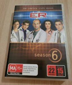 ER The Complete Season 6 Region 4 PAL