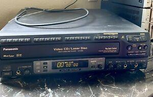Panasonic LX-V880 Multi Laser Disc Player Powers On Rare