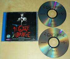 THE CURE - RARE 2 x VIDEO CD In Orange Malaysie 2000