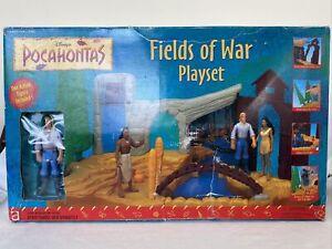 Disney Pocahontas Fields Of War Playset Mattel Nib