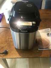 Panasonic SDZB2512KST Automatic Bread Maker ONLY USED TWO TIMES